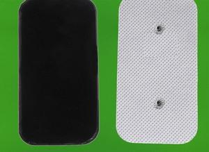 Image 1 - 40 adet (10 takım) kendinden yapışkanlı kullanımlık yedek elektrot pedleri onlarca/EMS Compex snap kablosuz kas uyarıcıları 3.9mm saplama