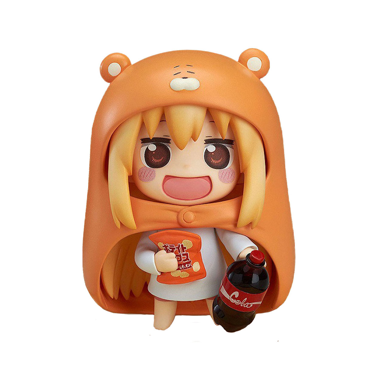Chanycore GSC Nendoroid 524# Japanese Anime Figure U M R Cute Nendoroid Doma Umaru PVC Action figure Model collection Toy 10cm free shipping 4 nendoroid anime himouto umaru chan doma umaru boxed 10cm pvc acton figure collection model doll toy gift 524