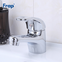 Frap New Arrival Bathroom Basin Sink Faucet Single Handle Kitchen Tap Hot and Cold Water Mixer Taps Chrome Finished Crane F1003