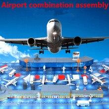 Modèle assemblée kits, 200 L'aéroport combinaison l'assemblée, respectueux de l'environnement en plastique produits, DIY jouets, livraison gratuite