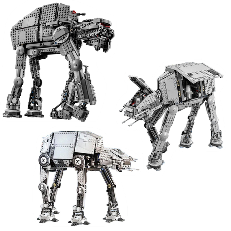 05051 05130 05050 Star In War Force Awaken The AT-AT Transportation Walking Robot Educational Blocks Toys Legoings 1017805051 05130 05050 Star In War Force Awaken The AT-AT Transportation Walking Robot Educational Blocks Toys Legoings 10178