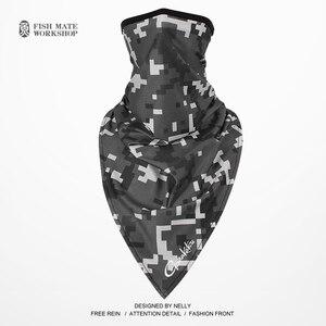 Image 5 - 2019 Gamakatsu écharpe de pêche glace soie foulard magique été crème solaire collier hommes et femmes écharpe déquitation en plein air