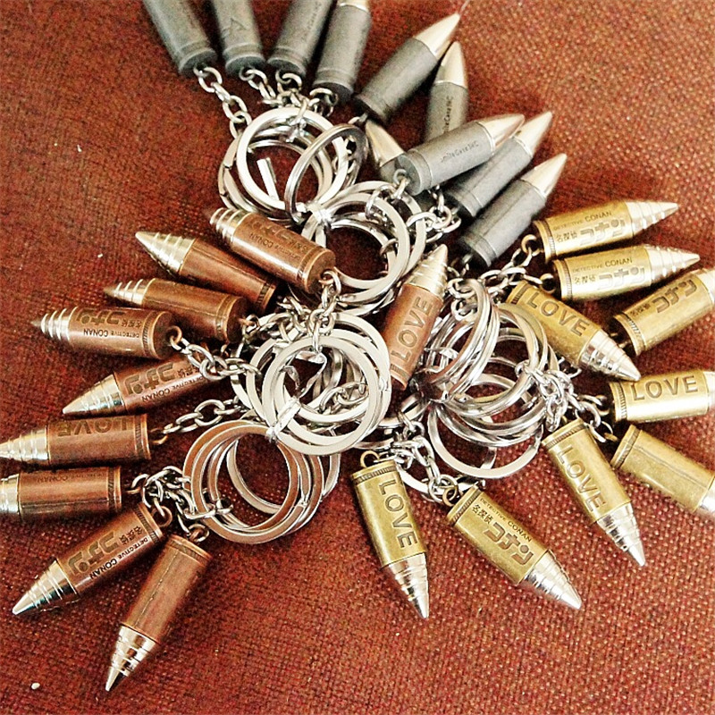 Bullet keychains (4)