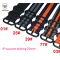Pbcode New Design Nylon Nato Strap 22mm Men Watchband Black Buckle for Sport Army Watch
