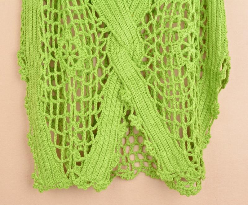 Új divat tavasz Őszi új divat Kézi hollowout kötött pulóver - Női ruházat - Fénykép 6