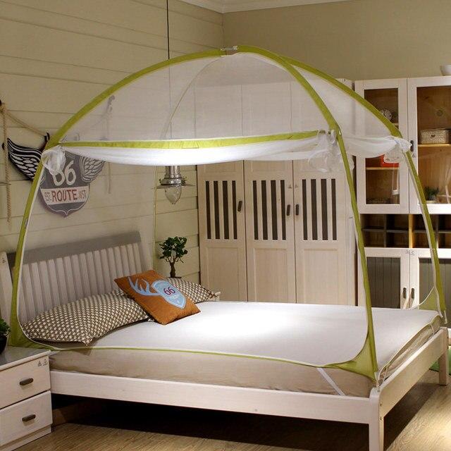 grande taille double lit portable pliant moustiquaire de luxe voyage camping tente moustiquaire lit - Moustiquaire De Lit