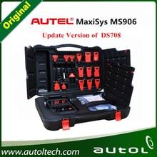 2016 newest Original AUTEL MaxiSYS MS906 Auto Diagnostic Scanner new version of Autel MaxiDAS DS708 Diagnostic Tools free dhl