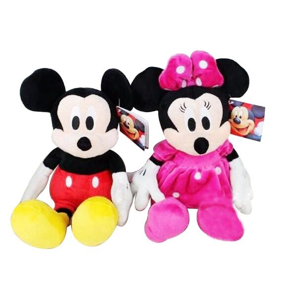 GGS 6pc / lot 30cm Mickey og Minnie Mouse, Donald Duck og Daisy Duck, - Dukker og utstoppede leker - Bilde 4