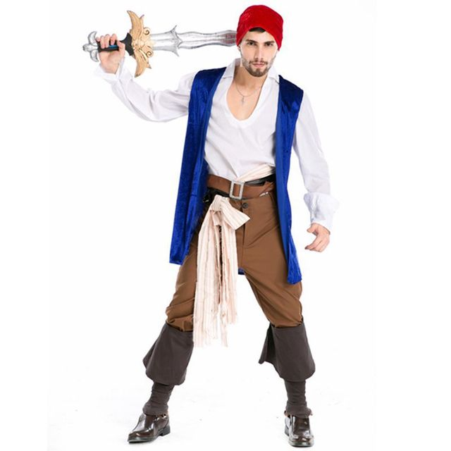 Pirate costume halloween costume for men cosplay costume victorian dress disfraces halloween medieval dress medieval gown  sc 1 st  AliExpress.com & Pirate costume halloween costume for men cosplay costume victorian ...