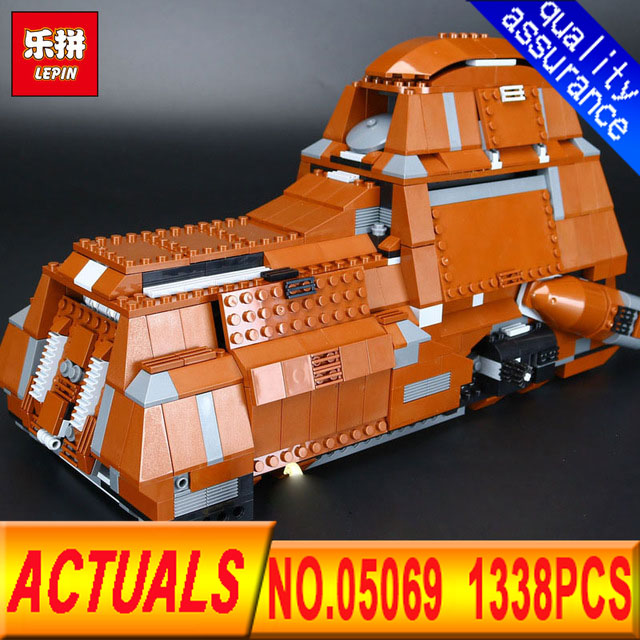 Lepin 05069 Star Set War Series The Federation Transportation Tank Set MTT Children Building Blocks Bricks legoed Toys 7662 ynynoo lepin 02043 stucke city series airport terminal modell bausteine set ziegel spielzeug fur kinder geschenk junge spielzeug