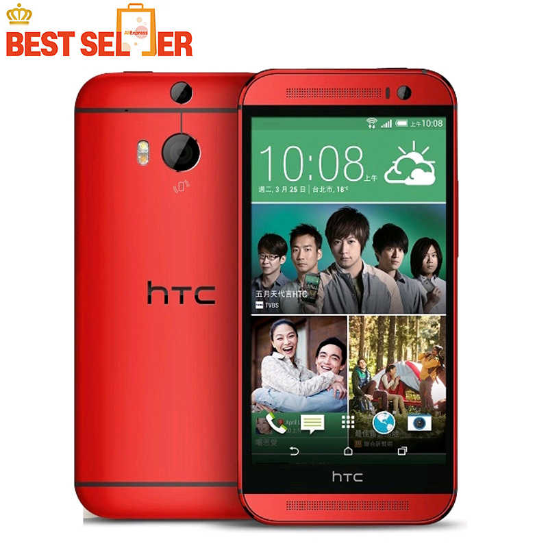 Original HTC One M9 4G LTE Mobile Phone 3GB 32GB 1920*1080P 20MP Octa-Core 5.0 inch NFC Octa Core Android HTC M9 Smartphone