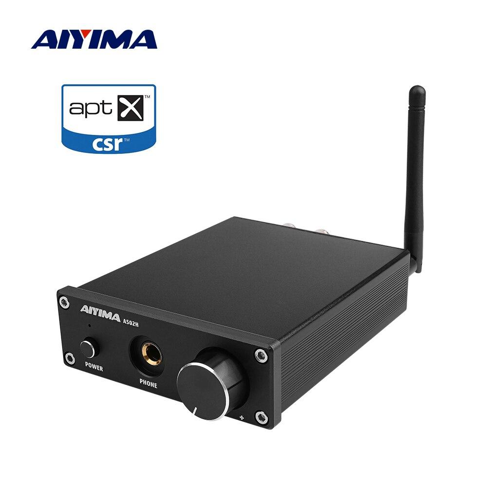 AIYIMA Mini Amplificador Bluetooth amplificateurs carte Audio TPA3116D2 50Wx2 numérique stéréo amplificateur de puissance à la maison sortie casque