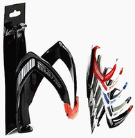 New Cycling Carbon Fibre Mountain Road Bike Water Bottle Holder Cages Convenient Stylish Bicycle Accessories 4