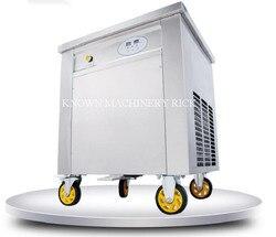 Tajlandia pojedyncze okrągła miska 45 cm/50 cm smażone/smażyć maszyna do lodów/co rolki/maszyna rolki|Maszyny do lodów|AGD -