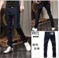 free shipping  Men's Jeans Slim Fit Classic denim Jeans Trousers Straight Size M L XL XXL