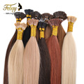 "Hot Selling I Tip Hair Extenisons 18""-24"" 100s/lot Keratin Thick Tip Hair Brazilian Hair Extension Remy Human Hair Big Promotion"