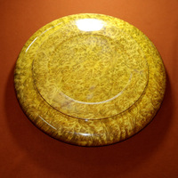 46x6.5cm Finest Burma's gold camphorwood full burl wood craft big Brush cleaning pot Pen rack valued arts collections decoration