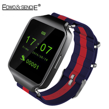 EDWO L1 Ultrathin Smart Watch Bluetooth4.0 MTK2502 Support SIM Card With Weather Forecast Smartwatch Wrist Watch For IOS Android