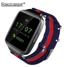 Edwo l1 u ltrathin smart watch bluetooth4.0 mtk2502สนับสนุนซิมการ์ดที่มีพยากรณ์อากาศs mart w atchนาฬิกาข้อมือสำหรับios a ndroid