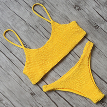Bandeau Push Up Bandage Brazilian Bikini