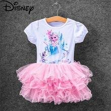 Disney frozen vestido, nova princesa anna elsa traje de elsa crianças princesa vestidos infantis fantasia carnaval rapunzel