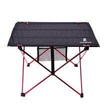 Открытый складной стол ультра-светильник алюминиевый сплав структура водонепроницаемый кемпинг стол мебель складной столик для пикника