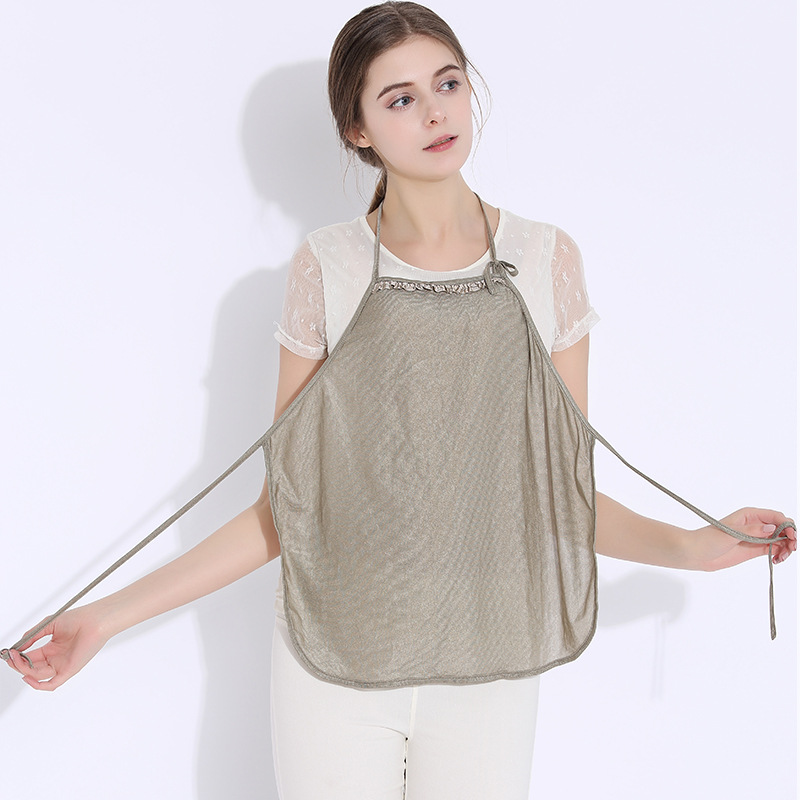 Genuine radiation-proof clothes silver fiber stomachers four Computer Anti Radiation on pregnant women silver fiber women clearance inventory radiation proof vest tops easing anti radiation maternity dresses rfid block apparel
