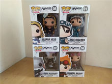Funko pop oficial magic-liliana, garruk wildfalante, jace, chandra vinil figura de ação collectible modelo de brinquedo(China)
