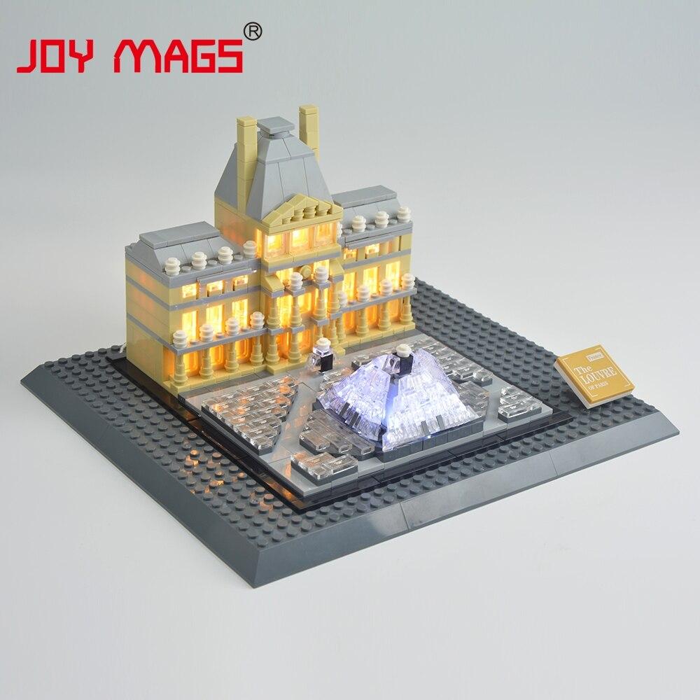 JOY MAGS Жеңілдеткіш жинағы Led Building Blocks Kit - Дизайнерлер мен құрылыс ойыншықтары - фото 4