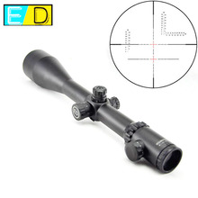 Visionking 4-48x65ED Top Quality Hunting Optical Sights High Shockproof Rifle Scope For .50 With 11mm Mount Rings&Sunshade Hood