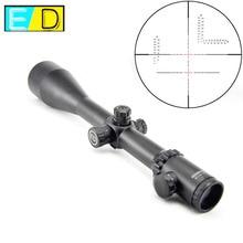 """Visionking 4 48x65ED למעלה איכות ציד כוונות אופטיות גבוהה עמיד הלם רובה. 50 עם 11 מ""""מ הר טבעות & שמשיה הוד"""