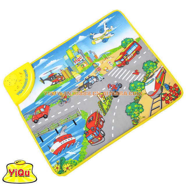 Fun City Beach English Toys Infants Parenting Aids Preschool Musical Games Carpet Trade Of