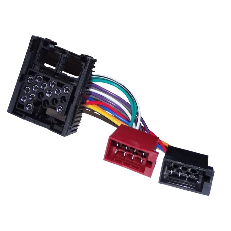 Msanzeo Radio Plug Adapter Quadlock Cable ISO for BMW MINI E30 E36 E46 E34 E39 E32 E38 E31 X5