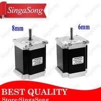 Free shipping 1Pcs 2 phase, 4 Leads 20Kgcm 76mm CNC Nema 23 Stepper Motor,3D Printer 23HS7628 23HS8430 1.8deg