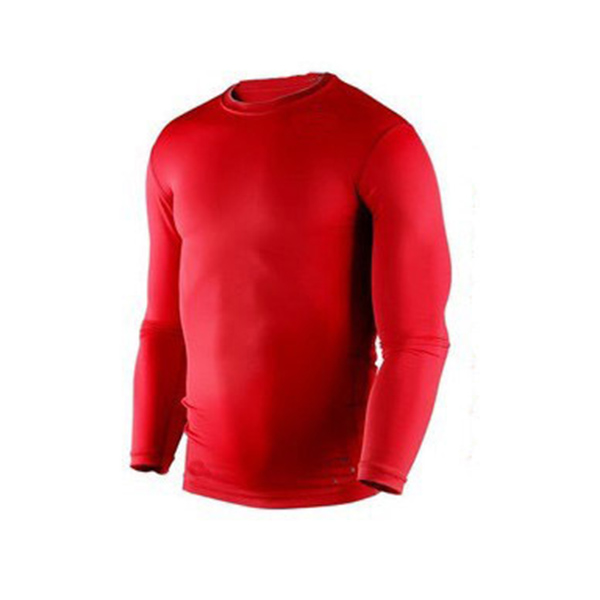 Wholesale new men compression base layer tight shirt long for Bulk under armour shirts