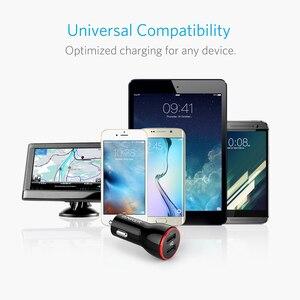 Image 5 - Anker 24W podwójna ładowarka samochodowa USB PowerDrive 2 dla iphonea; Samsung Galaxy; LG G4 / G5; Google Nexus; Urządzenia iOS i Android