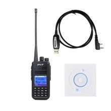 TYT Tytera MD-380 DMR Digital Radio UHF 400-480 MHz 1000 Canales CTCSS/DCS Walkie Talkie con USB Cable de programación/CD md380