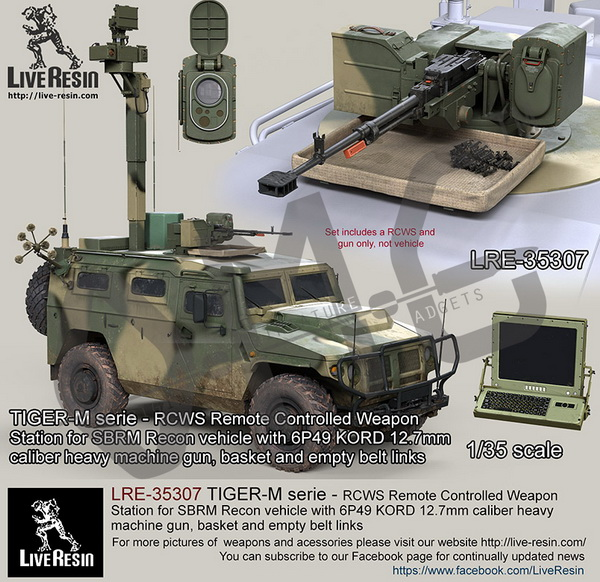 Scale Model Kit Live Resin Lre 35307 1 35 Tiger M Serie Rcws Remote Controlled Weapon Station Model Building Kits Aliexpress
