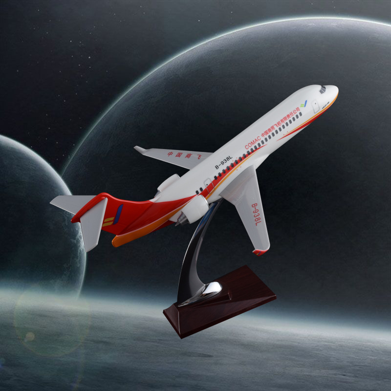 32cm Air China commercial flying ARJ resin aircraft airplane model Air China aviation ARJ stand craft model Chinese Plane Model aeroclassics a330 200 vh eba 1 400 jetstar commercial jetliners plane model hobby