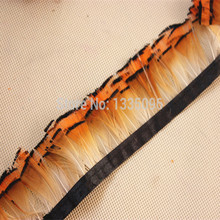 1 yard/lot birds feather edge about 5-8 cm  jewelry clothing accessories!