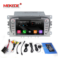 2din Car GPS Navigation radio for Focus S max Kuga Mondeo with Radio DVD Headunit Bluetooth steering wheel control free 8GB map