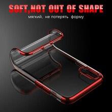 iPhone 7 Plus 7Plus 8 8Plus 6 6S 6Plus Cases transparent plating shining full cover for iPhone X Case