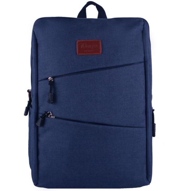 14 15 15.6 Inch Gunny Linen Laptop Notebook Backpack Bags Case School Backpack for Working Travel Shopping Climbing Men Women