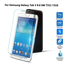 Gehard Glas Screen Protector Voor Samsung Galaxy Tab 3 8.0 Sm T311 T310 SM-T311 8 Inch Tablet Beschermende Film Guard case(China)
