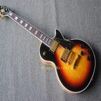 Wholesale Electric Guitar Flame Top Custom Guitar In Vintage Sunburst Free Shipping
