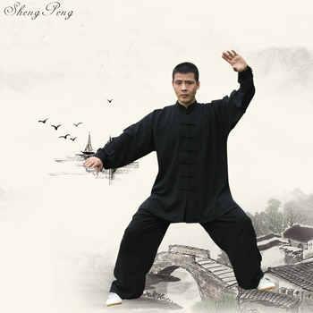 Kung fu clothes wushu kung fu costume tai chi chuan uniform traditional chinese men tai ji clothing oriental men clothes V709 - Category 🛒 Novelty & Special Use