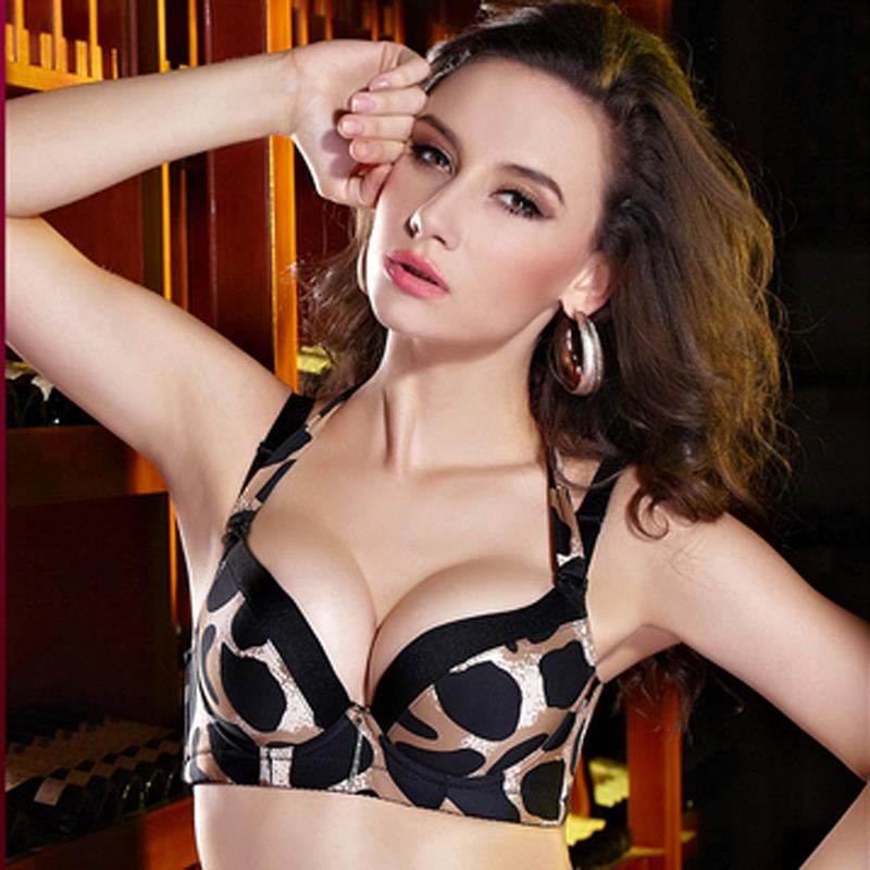 Popular Leopard Push up Bra-Buy Cheap Leopard Push up Bra lots ...