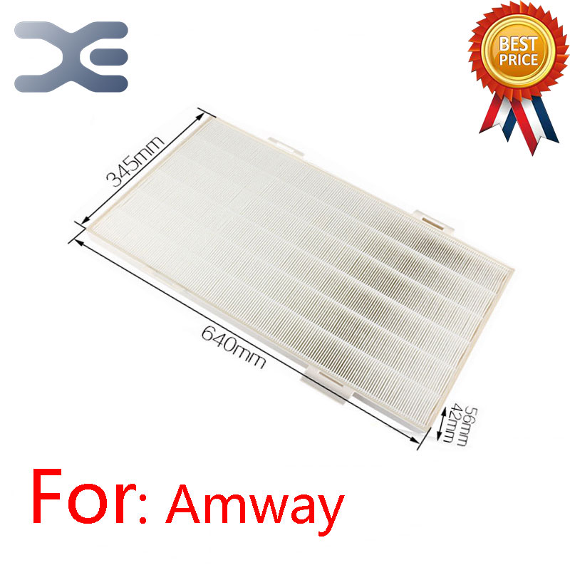 Adaptation For Amway Air Purifier HEPA Filter 101076CH HEPA Filter Air Purifier Parts 3pcs lot ac4141 ac4143 ac4144 filter kit for philips ac4072 ac4074 ac4083 ac4084 ac4085 ac4086 ac4014 acp073 air purifier parts