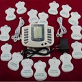 Electric body massager Slimming Tens pad Acupuncture Therapy foot Neck back relaxing Health Care Massage Machine device 16 pads