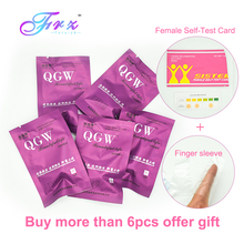 цена 6pcs Swab Tampons Female hygiene vaginal Tampon Chinese medicine discharge toxins gynaecology pad vagina tampons beautiful life онлайн в 2017 году